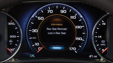 Rear Seat Reminder poate salva viața copilului!