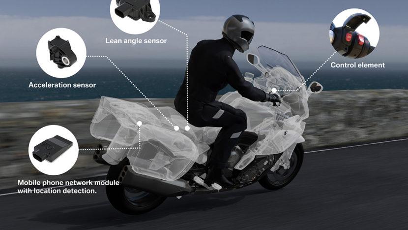 Cum funcționează sistemul SOS pe motociclete