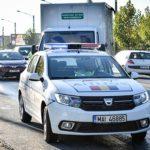 Un nou lot de autovehicule cu defecţiuni tehnice, scos din circulaţie
