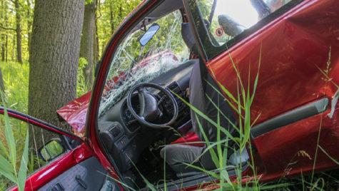 Jumătate dintre accidentele cu un singur vehicul au loc din cauza vitezei